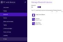 Powering up with BLE in Windows 8.1