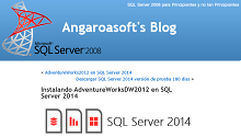 Instalando AdventureWorksDW2012 en SQL Server 2014