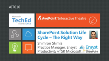 SharePoint Solution Development Lifecycle – The Right Way
