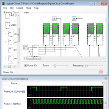 Design and simulate digital logic circuits with LogicCircuit