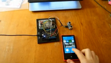 What does the Imperial March, Windows Phone 8, Netduino, Bluetooth and Sonar have in common? This!