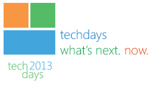 Techdays 2013 the Netherlands