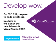 Live at Visual Studio 2012 Launch