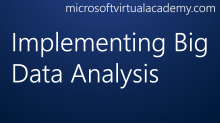 Implementing Big Data Analysis