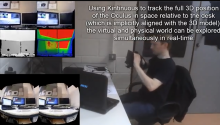 Kinect to Oculus Rift with Kintinuous