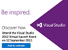 Visual Studio 2012 RTM!!
