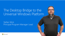 Using the Desktop Bridge to bring desktop apps to the Windows Store
