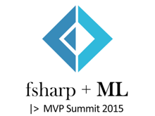 fsharp + ML |> MVP Summit 2015