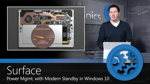 Understanding Surface Power Management with Modern Standby in Windows 10