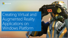 Creating AR and VR Apps on Windows