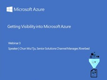 Webinar 3: Getting Visibility into Microsoft Azure