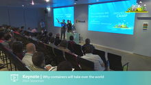 Keynote -Why containers will take over the world
