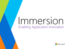 Application Innovation Immersion