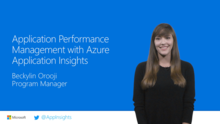 Application Performance Management with Azure Application Insights