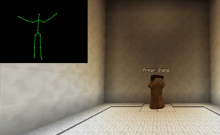 Kinect to Minecraft with McAmusement