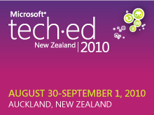 Tech·Ed New Zealand 2010