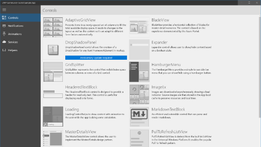 UWP Community Toolkit Gets New Controls, Services and More in 1.3