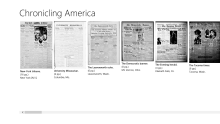 """Chronicling America"" with a little JavaScript, Windows 8.1 and VS 2013"