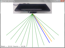Kinect Audio Positioning