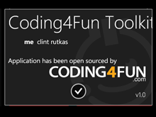 Coding4Fun Windows Phone Toolkit