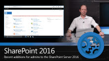 What's new for admins in SharePoint Server 2016