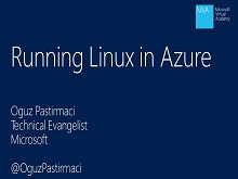 MVA - Running Linux in Azure