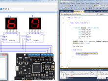 No Netduino hardware? Go Virtual. The VirtualBreadboard has (some) Netduino support