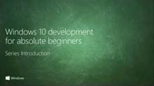 Windows 10 Development for Absolute Beginners