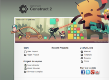 Jump into HTML game dev with the free Construct 2