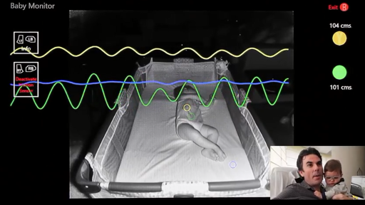 Kinect as a Baby Monitor. Crazy or Crazy Brilliant?