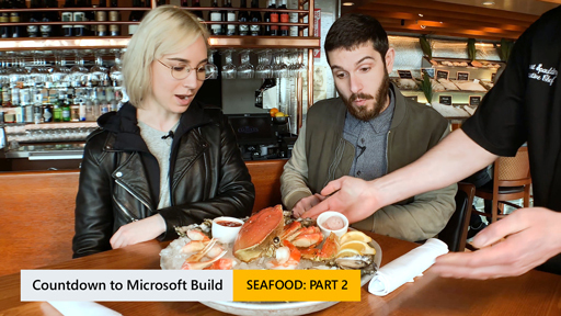 Countdown for Microsoft Build: Seafood (Formal Dining)