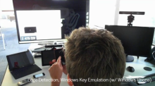 TUIO to touch device to Windows 8 - TouchProxy lets you reach out and...
