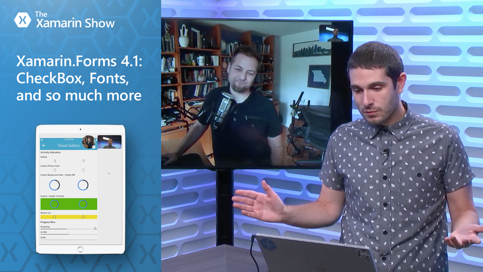 Xamarin Forms 4 1: CheckBox, Fonts, and so much more   The Xamarin Show