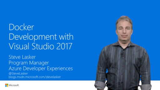 .NET Docker Development with Visual Studio 2017