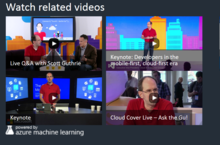 Channel 9 Implements The Azure Machine Learning Recommendations API