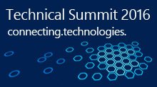 Technical Summit 2016 - connecting.technologies.