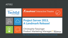 Project Server 2013, a Landmark Release!