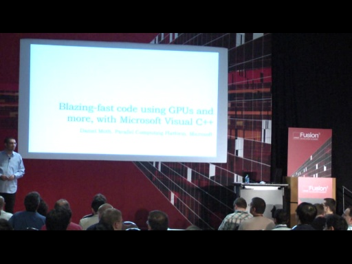 Daniel Moth: Blazing-fast code using GPUs and more, with C++ AMP