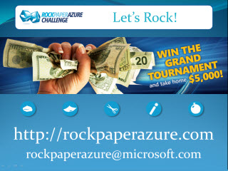 Rock Paper Azure Challenge Grand Tournament