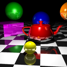 There are no clouds when raytracing with Azure