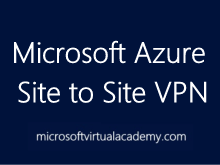 Azure Site to Site VPN