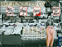 When Fish Fly - Pike Place Market Kinect Game Simulation Project