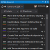 GitHub Issue Management Visual Studio Extension