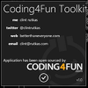 Coding4Fun Toolkit v2.0.9 Released