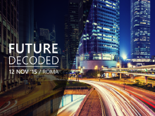 Future Decoded 2015 - Roma - ENG