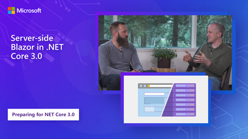 Server-side Blazor in .NET Core 3.0
