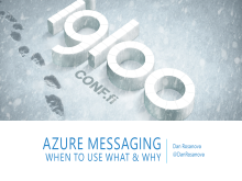 Azure Messaging: When to use what and why
