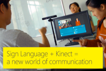 Kinect Sign Language Translator from Microsoft Research