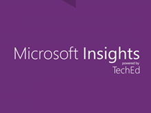 Bastidores do Microsoft Insights powered by TechEd