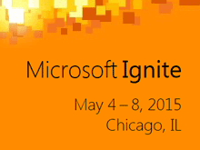 Microsoft Ignite 2015 | Channel 9